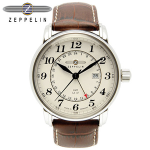 [ZEPPELIN 재플린시계]  7642-5 22유-LZ127 Count Zeppelin [우림FMG본사 A/S]  [MADE IN GERMANY]